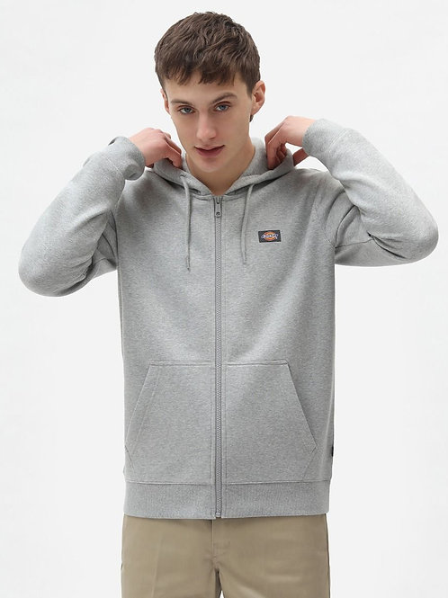 oakport hoodie zippé gris