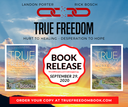 True Freedom Book Release Graphic
