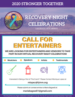 Final - Call for Entertainers Flyer