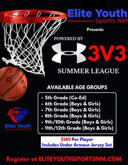 EYSNM 3v3 Under Armour summer league
