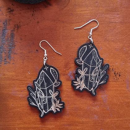 Botanical Crystal Earrings