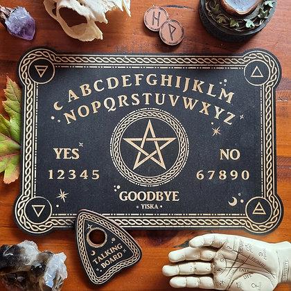 Pentagram Spirit Board & Planchette Set