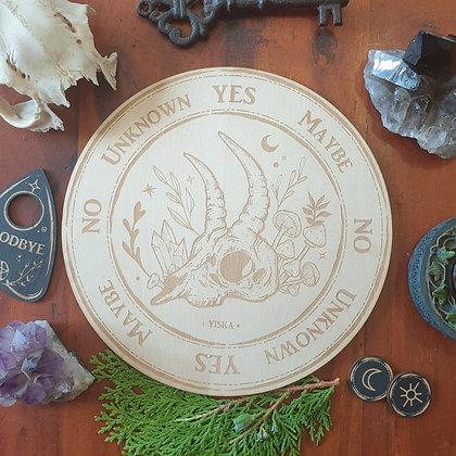 Forest Skull Pendulum Board