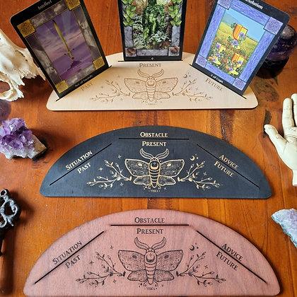 Three Card Moth Tarot Stand