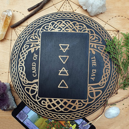 Tarot Oracle Card of the Day Board // Tree of Life Card Board
