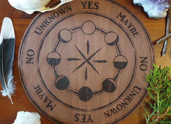 Pendulum Board // Moon Phase Design