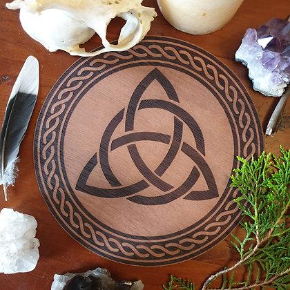 Triquetra Altar Tile // Magickal Decor