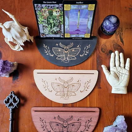Moth Tarot & Oracle Card Display Stand