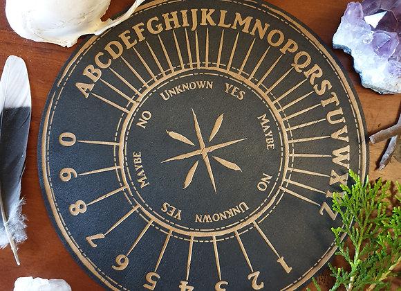 Pendulum Board // Alpha Numeric Design