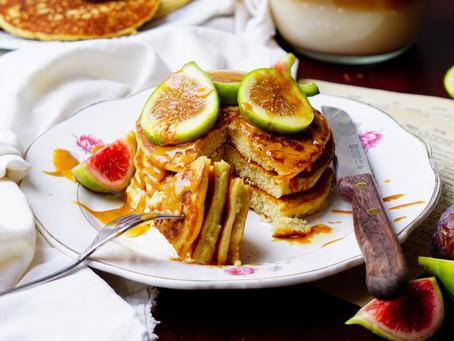 Pancakes sans gluten à la farine de coco