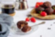 muffins vegans sans gluten caroube café