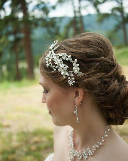 Outdoor Wedding Hair