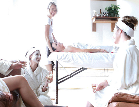 Spa Parties Available