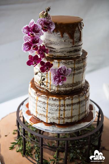 Paleo Caramel Drip Cake