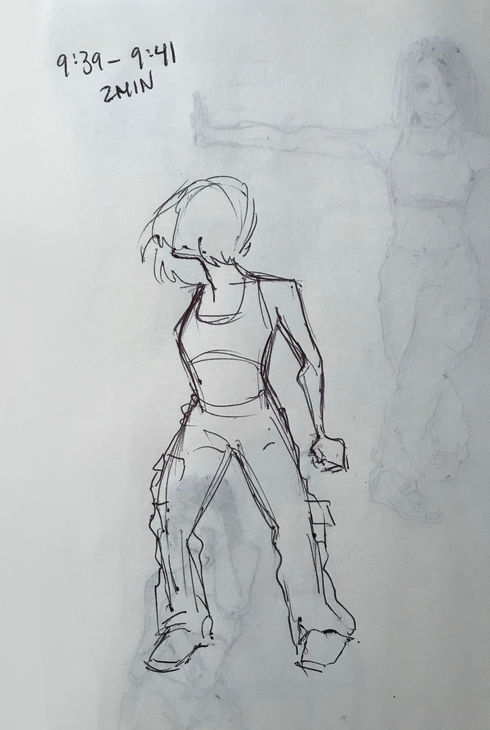 2 minute figure drawing