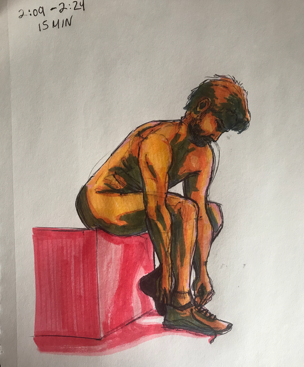15 minute figure drawing