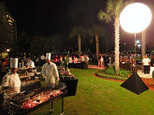 Corporate Event Moon Balloon Lighting Scottsdale AZ
