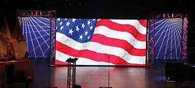 LED Video Wall Corporate Event Stage Backdrop