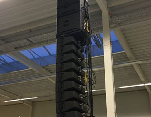 L-Acoustics Kiva II Line Array Rental Scottsdale AZ