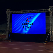 Arizona Stage Logo on LED video wall