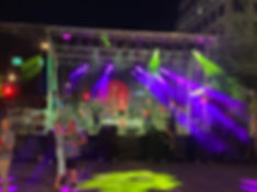 Stage Sound Lights rental for festival block parties Phoenx