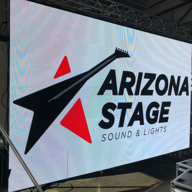 Arizona Stage LED Video Wall Rental in Phoenix