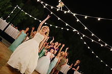 Italian bistro string lighting rental Scottsdale Phoenix