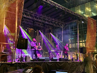 Phoenix Convention Center Block Party Festival Stage Sound and Lights Rental