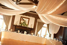 Ceiling Drape and Pipe Drape Rental