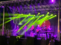 Festival Block Party Stage Sound Lights