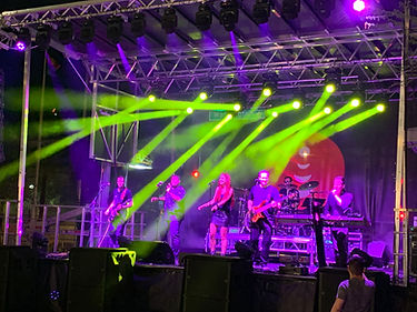 Festival Block Party Stage Sound Lighting
