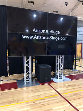 2x2 TV LED Video Wall Rental