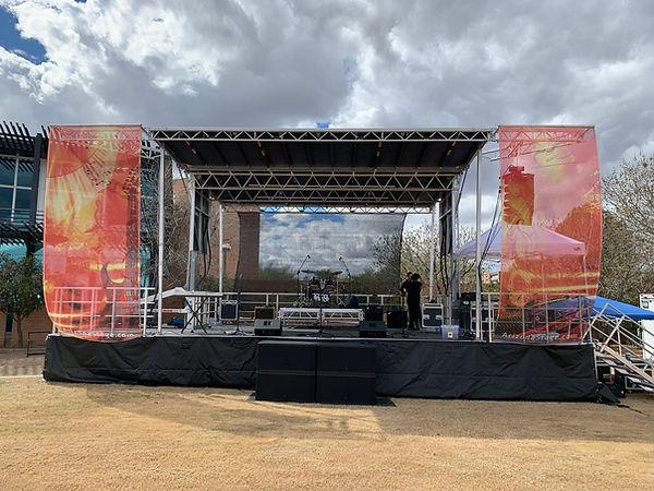 Arizona Stage SL100 Mobile Stage Rental