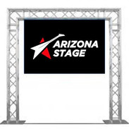 Arizona Stage LED Video Wall on Truss Arch