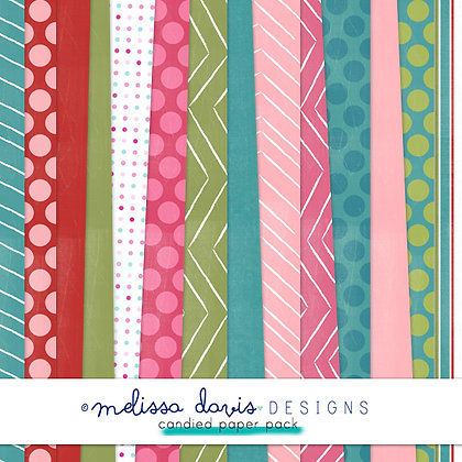 CANDIED DIGITAL PAPER PACK