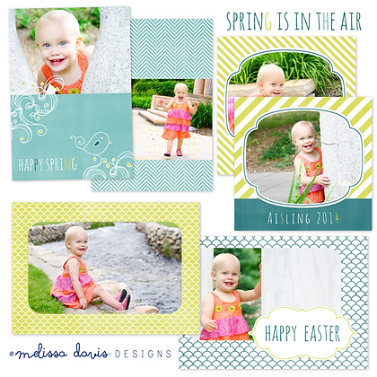 SPRING IS IN THE AIR PHOTOSHOP TEMPLATES
