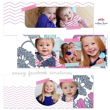 SASSY SISTERS FACEBOOK COVER PHOTOSHOP TEMPLATES