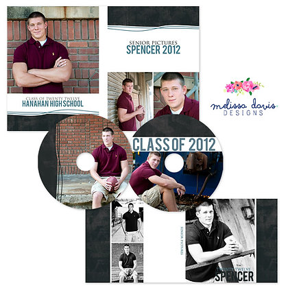 SPENCER CD & DVD PHOTOSHOP TEMPLATES