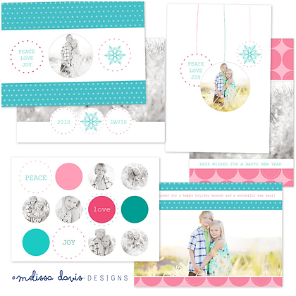 JOLLY HOLIDAY PHOTOSHOP TEMPLATES