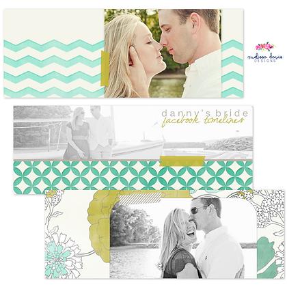DANNY'S BRIDE FACEBOOK COVER PHOTOSHOP TEMPLATE