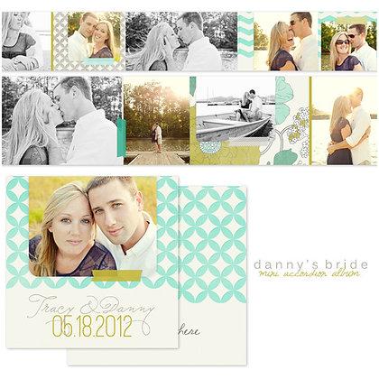 DANNY'S BRIDE 3x3 ACCORDION ALBUM PHOTOSHOP TEMPLATE