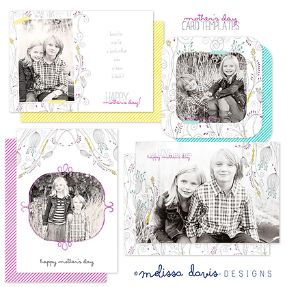 MOTHER'S DAY PHOTOSHOP TEMPLATES