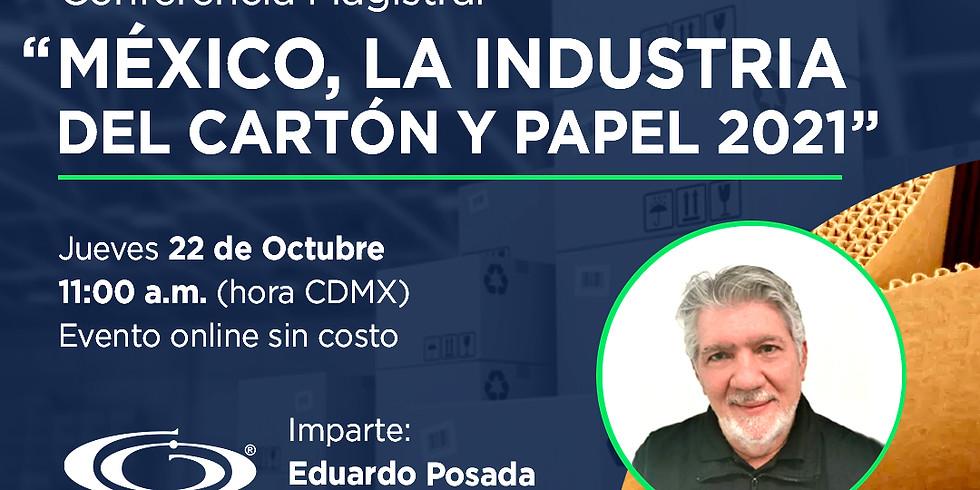 México, la industria del cartón y papel 2021