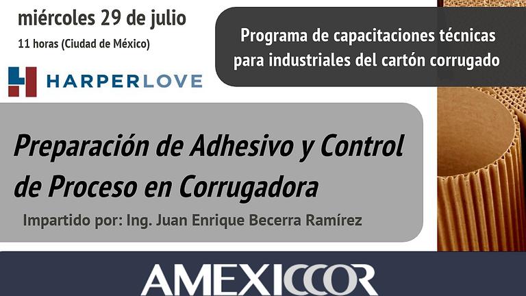Preparación de Adhesivo y Control de Proceso en Corrugadora
