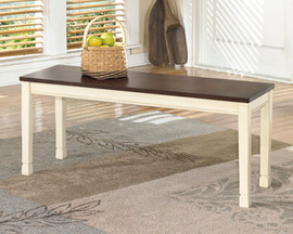 Ashley D583-00 Whitesburg Series Large Dining Room Bench