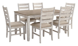 Ashley D394-425 Skempton Series Dining Room Set