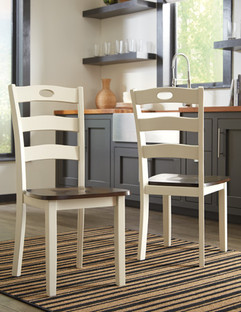 Ashley D335-01 Woodanville Series Dining Room Chairs