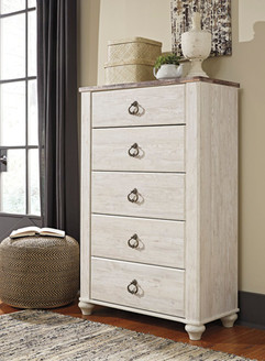Ashley B267-46 Willowton Series Five Drawer Chest