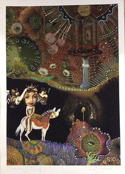 Journeys end, fantasy, surreal, art print