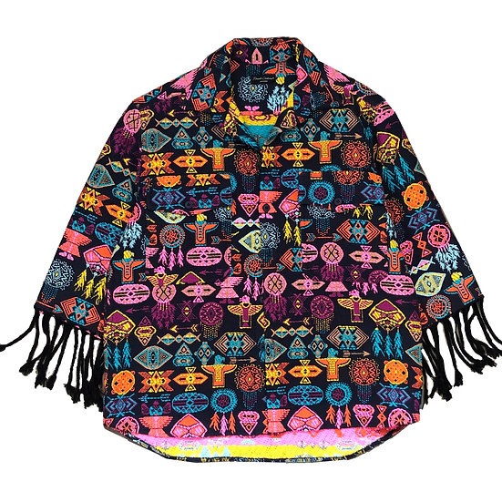 Signature poncho shirt